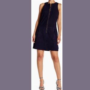 Gower Suede Mini dress by Trina Turk